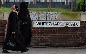 Muslim women in Whitechapel